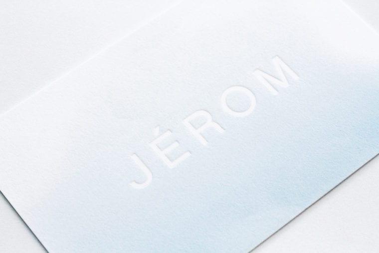 Geboortekaartje Jérom